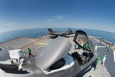 Aboard the USS Wasp