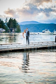 Taylor'd Events on The Knot | A Classic Waterfront Wedding at Alderbrook Resort and Spa in Union, Washington