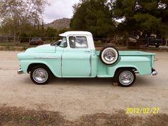 Clean, cute, Chevy Apache Truck, B