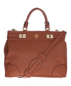 Look what I found on #zulily! Cognac Nadeen Leather Tote by Segolene En Cuir #zulilyfinds