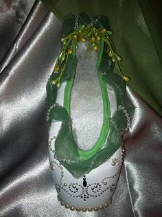 Giselle themed Pointe Shoe by fortheloveofdance on Etsy, $50.00