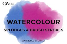 Watercolour Effect by CoutureWeb on @creativemarket