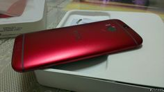 A red HTC One M8 spotted in photos from Taiwan - http://www.aivanet.com/2014/05/a-red-htc-one-m8-spotted-in-photos-from-taiwan/