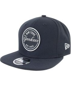 cheaper 97200 e77e5 New Era 9Fifty MLB New York Yankees Rubber Emblem Navy Snapback Cap
