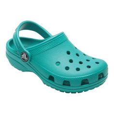 7397ed93f121 Children s Crocs Kids Classic Clog Juniors - Tropical Teal Clogs