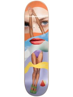 Almost Youness Girl Collage Skateboard Deck Almost Skateboards, Complete Skateboards, Skateboard Decks, Collage, Skateboards, Collages, Skate Board, Collage Art, Colleges
