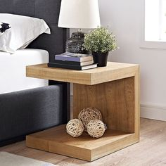 Off Gallivant Nightstand in Natural by Modway Furniture. @ Modern Nightstand or Side Table @ Durable Fiberboard Construction @ Smooth Wood Grain Veneer @ Non Sticking Plastic Pads @ Assembly Required @ CARB II compliant Wood Furniture, Bedroom Furniture, Modern Furniture, Furniture Design, Bedroom Decor, Small House Furniture, Furniture Removal, Furniture Stores, Furniture Ideas