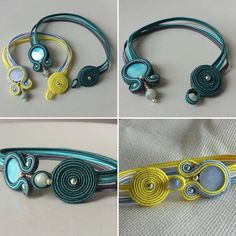 Progetti speciali per persone speciali..#varù #creazioniartigianali #soutache #soutachemania #handmade #madeinitaly #bracelets #braccialetti