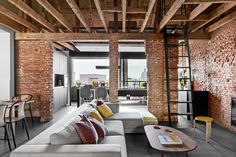 Loft is a name for a modern urban style in interior design, which is characterized by an abundance of open space and industrial elements in decor (very ✌Pufikhomes - source of home inspiration Modern Exterior, Interior Exterior, Interior Architecture, Loft Design, Design Case, House Design, Style At Home, Loft Industrial, Industrial Design