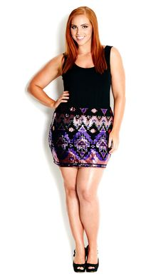 Life is short, so sparkle in sequins with our Baroque Sequin Skirt ...