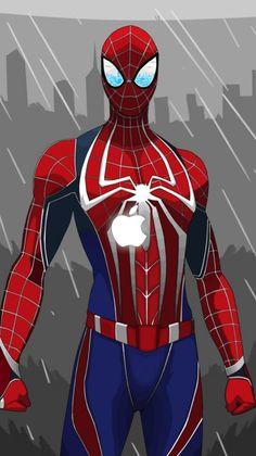Spider-Man <<credit to artist Marvel Fan, Marvel Heroes, Marvel Avengers, Marvel Comics, Marvel Comic Universe, Marvel Cinematic Universe, Best Marvel Characters, Heros Comics, Amazing Spiderman