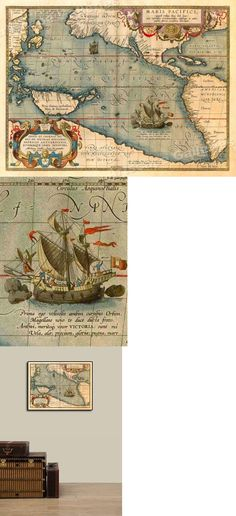 20x28 1570 Palestine Orbis Terrarum Historic Old Map