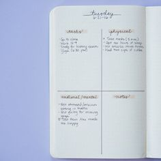 This easy-to-do daily: | 24 Minimalist Bullet Journal Layouts To Soothe Your Weary Soul