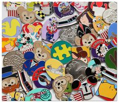 Trade for New Hidden Mickey Pins in 2013 at Disney Parks
