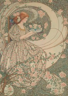 Dorothy Fitchew (active 1910-1922) - Roses