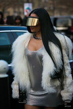 Nicki Minaj by STYLEDUMONDE Street Style Fashion Photography