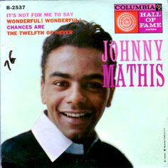 1950s music- Johnny Mathis - Chances Are