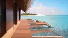 A Grand Water Villa at One&Only Reethi Rah, Maldives
