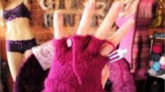 Knitting Patterns Ravelry How to Knit Glove Fingers Finger Knitting, Easy Knitting, Knitting For Beginners, Fingerless Gloves Knitted, Crochet Gloves, Knitted Hats, Chunky Knitting Patterns, Knit Patterns, Ravelry