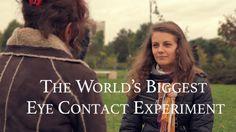 The World's Biggest Eye Contact Experiment Bucharest 17 Oct 2015 ~ Andrei Solomon Media