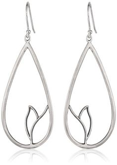Gold Lotus Earrings Teardrop 8 Petaled Pinterest And Fashion