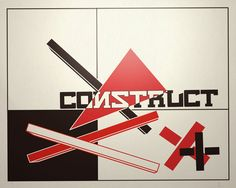 A big fan of constructivist design. Wanted a wallpaper which looked like an original piece of constructivist design. Uploaded for any constructivists fans out there.