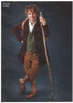 Martin Freeman as Bilbo Baggins - from Entertainment Weekly