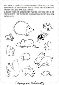 19 Nejlepsich Obrazku Z Nastenky Zvirata V Lese Preschool