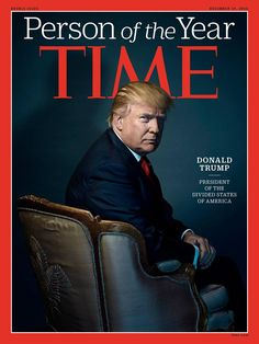 Donald Trump...Time Magazine person of the year 2016
