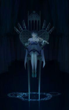 Mahou Shoujo Madoka☆Magica, Oktavia von Seckendorff, Miki Sayaka, Throne, Water Droplets