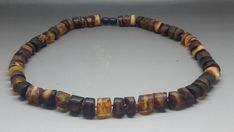 """19"""" Real Baltic Amber Choker Necklace Multicolor Man/Woman"""