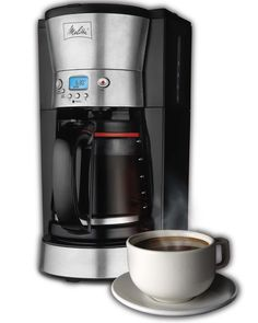 """Melitta Coffee Maker with Vacuum Stainless Thermal Carafe 10 Cup Thermal Melitta Coffee Brewer – Next time you say, """"Let's go get coffe Thermal Coffee Maker, Best Drip Coffee Maker, Coffee Cone, Melitta Coffee Maker, Coffee Maker Reviews, Best Espresso Machine, Cheap Coffee, Coffee Accessories, Restaurants"""