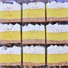 Lemon Meringue Pie Soap Bars by Cleanse With Benefits.