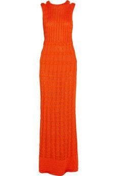 M Missoni Crochet-knit cotton-blend maxi dress | NET-A-PORTER OMG !!!