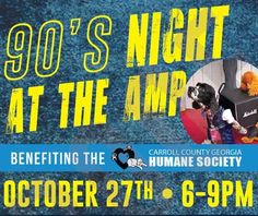 Come out to The AMP Thursday and help support the Carroll County Humane Society!  This event is sponsored in part by Partners @shuckersoysterhouse & @agw_icecream!  #thecitymenus #tcmpartners #community #events