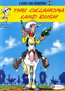 Lucky Luke is the cowboy who can shoot faster than his own shadow and, in the French speaking world, is probably third in bande dessinees character popularity behind the behemoths of Tintin and Asterix with over 70 titles published.