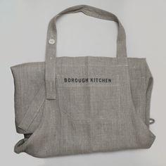 Borough Kitchen 100% Linen Apron - beautiful and hardwearing