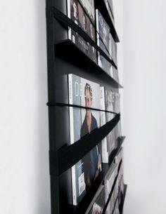 magazine rack supergrau® - contemporary lovepieces