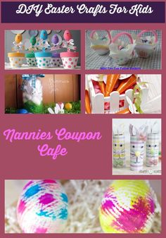 DIY Easter Crafts For Kids, Are you looking for simple easter crafts that you can do with your kids and grandkids create memories that will last a lifetime.