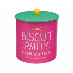 Happy Jackson Pink 'Party' biscuit barrel- at Debenhams.com