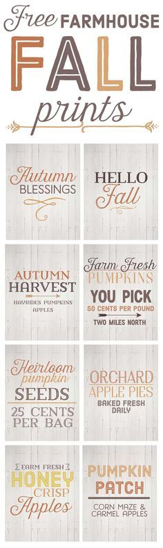 Free Fall Farmhouse Printables-fall farmhouse decor-fall home decor ideas-www.themountainviewcottage.net