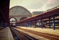 Train station in Budapest