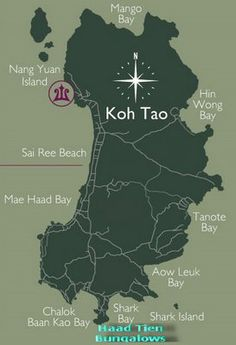 Tezza's Beaches and Islands: KO TAO UPDATED. nice review on the different beaches and bays at Ko Tao