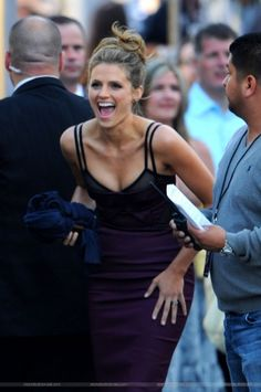 """#StanaKatic arrives at the """"Elysium"""" premiere (2013)"""