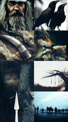 Norse Mythology Aesthetic - God Odin