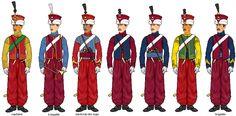 Uniformes de Mamelouks