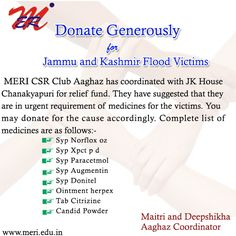 #MERI - Donate Generously for #Jammu& #Kashmir Flood Victimshttp://wp.me/p4iyfw-1rO