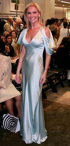 Ashley Bernon wears Yuna Yang at Fashion's Night Out Boston 2011.