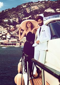 Mediterranean luxury life. For luxury holiday ideas in the Med visit www.mediteranique...