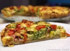Diy Food, Baked Potato, Quiche, Potatoes, Baking, Breakfast, Ethnic Recipes, Pies, Food Food